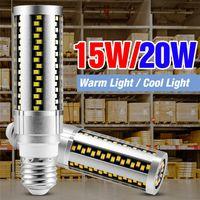 100-277V LED Corn Bulbs 15W 20W Energy Saving Lamp E27 Chandelier Lights For Bedroom Living Room kitchen SMD 2835 Ampoule