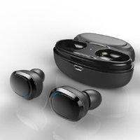 T12 TWS Bluetooth 5.0 Auricolari Sport In-Ear Wireless Auricolari Stereo Bass Brande Cuffie Cuffie Noise Cancellazione Auricolare portatile vivavoce
