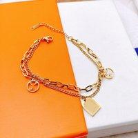 Любовный браслет ожерелье мода мужчина женщина цепь свадебные браслеты ожерелья специальные дизайнерские украшения высшего качества с коробкой