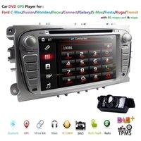 """Player 7 """"HD Car DVD GPS STEREO CABETE UNIDAD PARA FOCUS MONDEO KUGA C-MAX S-MAX AUTORADIO MULTIMEDIA Cámara de navegación"""