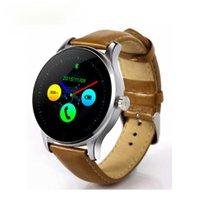 슬리미 한 K88H 스마트 시계 트랙 손목 시계 MTK2502 블루투스 Smartwatch 심박수 모니터 보수계 여성을위한 시계
