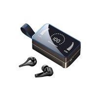 H3 TWS Kablosuz Bluetooth Ayna Kulaklıklar Touch 5.0 Spor Kulaklık Kulakiçi Kulaklıklar Mikrofonlar Ile Mini Earbud F9