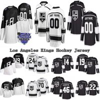مخصص Los Angeles Kings 99 Wayne Gretzky (ج) 4 روب بليك (ج) 19 أليكس Lafallo أي اسم أي عدد من الهوكي الهوكي S-6XL