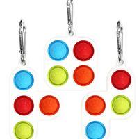 Tetris Brinquedos Fidget Pop Pop Popo Popper Jogo Sensory Bubble Popper Puzzle Silicone Puzzle Brinquedo Autismo Ansiedade Relisor H317JXF