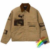 야구 자켓 남성 여성 1 품질 무거운 패브릭 코트 자켓