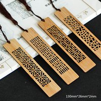Bookmark Ancient Chinese Traditional Art Style Retro Wooden Hollow Bookmarks For Books Creative Gift Friends School Stationery
