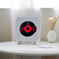 CD player wall mount with remote control FM radio built-in HiFi speaker USB MP3 Bluetooth portable home audio Boombox Professional Manufacture