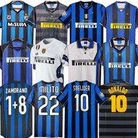 Inter Finaller Futbol Formaları 2009 2010 Milito Batistuta Sneijder Zanetti 10 11 02 03 08 09 Milan Retro Pizarro Futbolu 1997 1998 97 98 99 Djorkaeff Baggio Ronaldo
