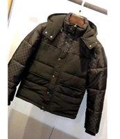 남자 디자이너 의류 까마귀 부드러운 패브릭 편지 재킷 망 겨울 코트 남자 디자이너 스웨터 남자 s 의류 화이트 블랙