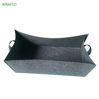 Keraflo planting pot Non Woven Felt Square Grow Bag Garden Bed Rectangle Growth Container