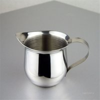 Молоко для молока 2oz 3oz 5oz 8oz Coffee Coffee Twows Pubsers Чашки для эспрессо-машин для молока пенушинг кувшин латте арт из нержавеющей стали кувшин T500774