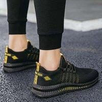 Männer Schuhe Turnschuhe Elastische Schnürsenkeln Sneakers Sportschuhe Sport Männer laufen Männer Sports Günstige Jogging Hohe Qualität