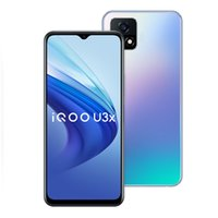 Original vivo iqoo u3x 5g Mobiltelefon 6 GB RAM 64GB ROM Snapdragon 480 Octa Core Android 6,58 Zoll Full Screen 13MP 5000mAh Fingerprint id Face Wake Smart Handy