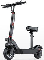 """36V große Lithium-Batterie-Fahrrad 10 """"Mini Erwachsener elektrischer Roller tragbares Zwei-Rad-flaches Auto, das elektrische Fahrräder faltet"""