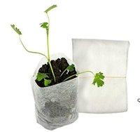 Patio Lawn 100pcs / Pack Forniture da giardino Protezione ambientale Protezione ambientale Nursery Pots Semenzale Aumentando Sacchetti DHB6278
