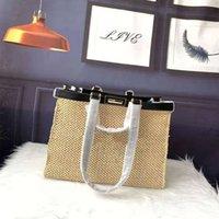 Fend Women Luxurys Designer Bag French niche bag women's advanced sense 2021 new fashion large capacity single shoulder bag net red woven