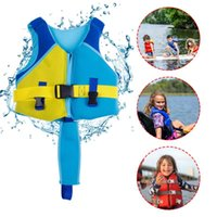 Life Vest & Buoy Children Boys Universal Jacket Swimming Outdoor Fishing Buoyancy Surf Water Sport Boating Vest#30