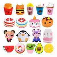 DHL Hot Jumbo Kawaii Pommes Panda Squishy Kuchen Hirsch Milch Squeeze Spielzeug Slow Steigende Sahne Duftstoffe Antistress Kind Kind Baby Spielzeug FY2757BJ29
