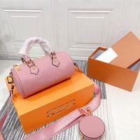Sacos de ombro elegantes cartas clássicas gradient design top saco das mulheres bolsa de alta qualidade com carteira de moeda