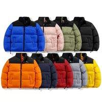 2021 MENS Designer Down Jacket Winter New Cotton Chaquetas Chaquetas Parka Abrigo Moda Abrigos Al Aire Libre Cortes Pares Abrigos Cálidos Tops Tops Outwear Múltiple Color