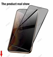 Privacy Tempered Glass screen protectors For iPhone 12 12ProMax 12MINI 11 11ProMax 11Pro X XS XR 8 Plus 5 9H Anti-Spy Full Cover compatible