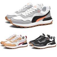 Outdoors Outdoor Zapatillas para correr hombres Mujeres Negro Blanco Gris Rojo Rojo Moda # 14 Entrenadores para hombre zapatillas deportivas para mujer zapatillas de corredor caminando