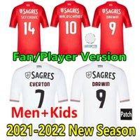 21 22 fan oyuncu versiyonu pizzi darwin futbol formaları rafa waldschmidt taarabt otamendi cervi 2021 2022 Samaris Vertonghen Gabriel Seferovic futbol erkek çocuklar setleri