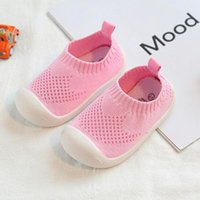 First Walkers Infant Toddler Casual Mesh Shoes Fashion Non-slip Soft Bottom Baby Girl Boy Born Age 6-24M
