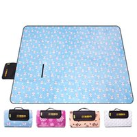 200*150cm Outdoor Foldable Coral Velvet Picnic Mat Portable Camping Hiking Traveling Tent Sleeping Pad Cushion Blanket 0055 Pads