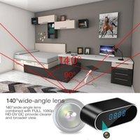 Wireless WIFI Camera Clock Wi-fi Mini Time Alarm Watch P2P IP AP Security Night Vision Motion Sensor Remote Cam Cameras