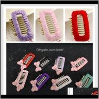 Fournitures de vêtements Home Jardin Drop Livraison 2021 BB Small Pearl Bow Clip Clip Toilettage Aessories Dog cadeau Chien Cat Cheveux Coiffure Pépin Pays Produits 20PCC