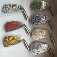 Bügeleisen geschmiedet Golfkopf Silber 7 stücke Zodia Spinne Eisen Set Golfclubs 4-9P Kein Schaft Golf Eisen Kopf