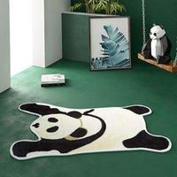 Carpets Tiger Panda Cat Print Rug Bathroom Kitchen Door Mat Anti-slip Animal Carpet Area For Home 3 Size