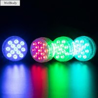 Pool & Accessories Lights Pond Underwater Tub LED Bath Spa With 10 13 Beads For Garden Fish Tank Party Home Decor