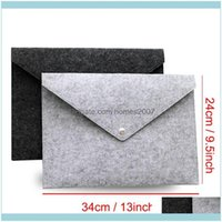 Products Business & Industriala4 Felt File Pocket Durable Button Folders Filing Supplies Creative Portable Archival Bag School Office Articl