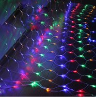 Party Decoration 6Mx4M LED Fishing Net Mesh Fairy String Lights Ceiling Christmas Wedding Outdoor Lamps