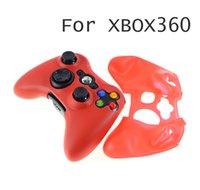 Hot New Controller Silcone Case Silicone Skin Case för Xbox360