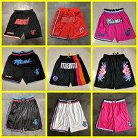 Juste don miamiChaleurShorts de basketball 3 DwayneWade Jersey 22 JimmyJoueur de majordomeVilleJerseys édition