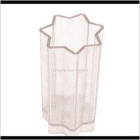 Moule en plastique durable en forme de bougie en forme d'étoile en forme de bricolage pour bricolage artisanat parfumé à la main Faire des décorations à la maison 5inch FSDWR JJXS4