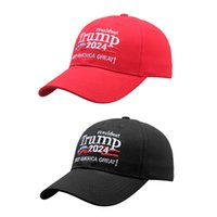 Donald Trump 2024 Cap Embroidered Baseball Hat With Adjustable Strap Keep America Great Banner