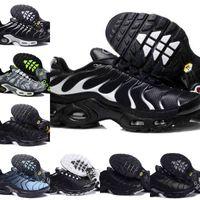 2021 Новый туфли TN Mens Black White Red Classic TN Plus Ultra Sports Running Shoes дешевые TNS Requin Airs Basketball Designer Train Croseker F5