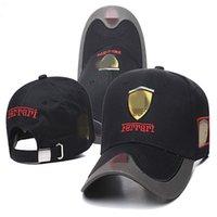 Оптом мода горас папа шляпа вышивка f1 гонка хлопчатобумажная бейсболка регулируемая гольф машина автомобилей для женщин мужчины летняя кость casquette