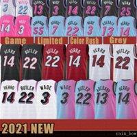 2021 جديد دواين دواين 3 واد كرة السلة جيرسي جيمي 22 بتلر رجل تايلر 14 هيرو بام 13 Ado غوران 7 Dragic Kendrick 25 Nunn Black