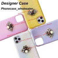 Beautiful Designer Bee phone cases for iphone 12 11 Pro Max case 11P XR XSMax 7P 8P 7 8 080212