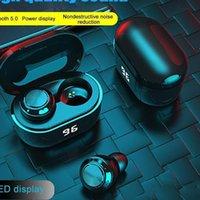 In-Ear Earphones Wireless Bluetooth Earphone A6 TWS 5.0 Stereo Headset with Digital Charge Box