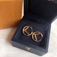 여성 귀걸이 디자이너 쥬얼리 디자이너 액세서리 F 편지 Womens Luxurys 디자이너 귀걸이 스터드 진주 귀걸이 부들 22 2105112L