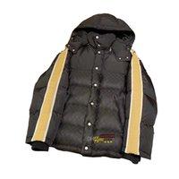 Famous Luxury Men Giacche in Giacche North Winter Coat Reflective Stripes Bread Classic Stampa completa Vestito Confortevole e caldo Giacca uomo