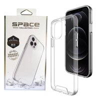 For iPhone 12 11 Pro Max XR X 6 7 8 Plus Premium Transparent Rugged Clear Shockproof SPACE Case Cover Samsung S21 Note20