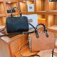 Speedy Bandouliere 25 FW21 Превосходное преданное леопардовое печать сумки на ремне шарм дизайнер холст нано Crossbody женский ключ блокировка сумка кошелек монеты кошелек M45722 M45724