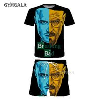 Breaking Bad T Shirt Men women 3D Printed T-shirts Casual Harajuku Style Tshirt Streetwear Tops Summer Beach Pants Suit Men's Tracksuits